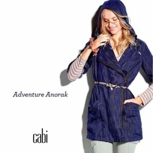 CAbi M Adventure Anorak 5100 WASHED INDIGO BUE